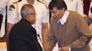Suresh Prabhu joins BJP