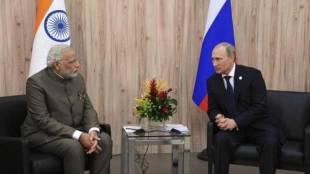 Putin Narendra Modi
