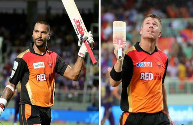 David Warner, Shikhar Dhawan, Sunrisers Hyderabad, Kolkata Knight Riders, SRH vs KKR, SRH vs KKR IPL, SRH vs KKR Score, IPL 8, IPL 2015, IPL News