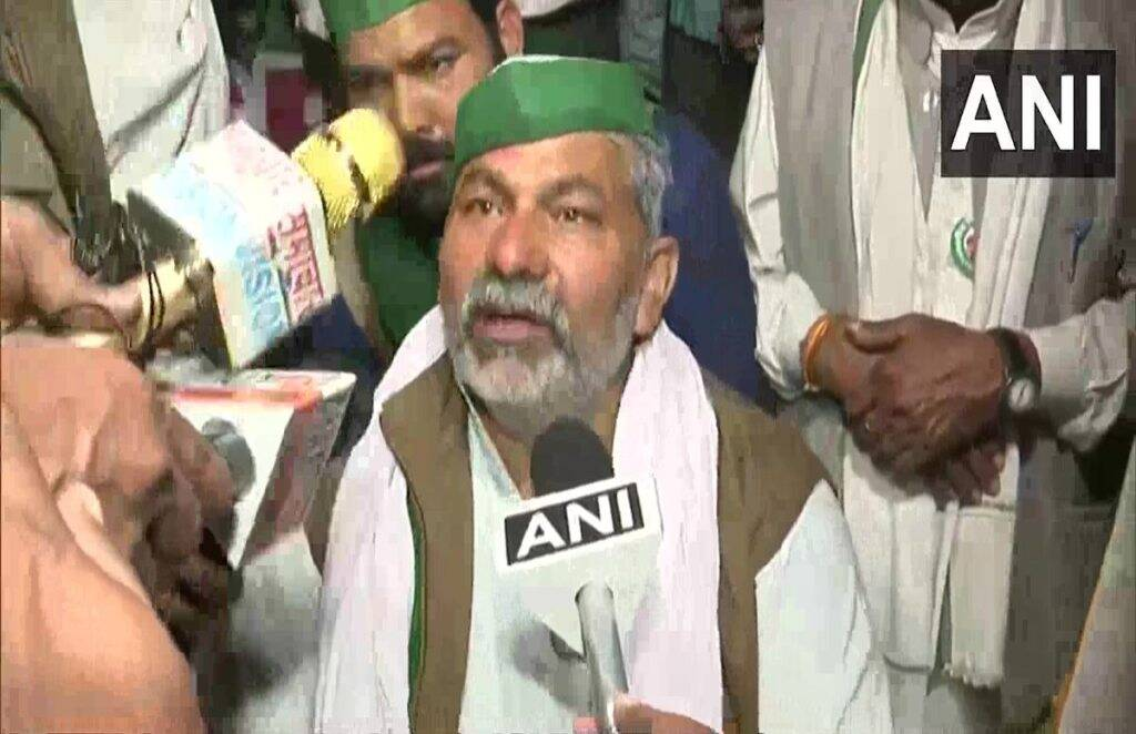 rakesh tikait, delhi violence, farmer protest