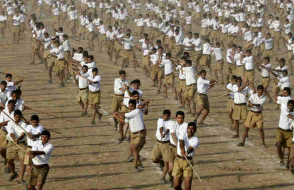 NSUI, RSS, Student, Lathi, Offense, jaipur news