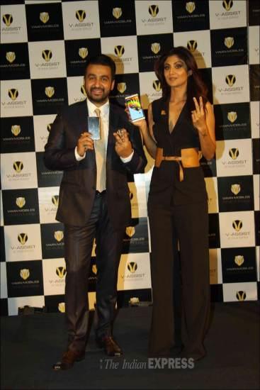 शिल्पा शेट्टी, राज कुंद्रा, वियान मोबाइल्स, वियान मोबाइल्स लॉन्च, raj kundra, shilpa shetty, viaan mobiles, malaika arora khan,