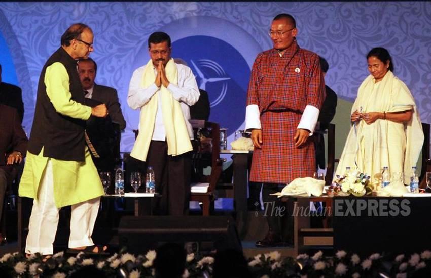 arvind kejriwal, arun jaitley, ddca, Mamata Banerjee, Share Stage, Bengal Global Business Summit, arvind kejriwal news, arun jaitley news, jaitley kejriwal, अरुण जेटली, ममता बनर्जी, अरविंद केजरीवाल, बीजेपी, आप, latest hindi news, hindi news, news in hindi