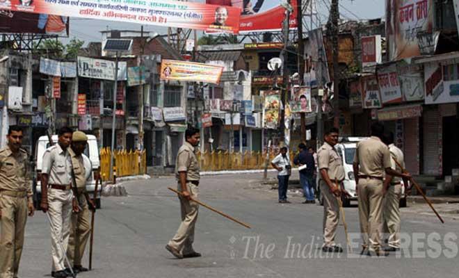 tension in Muzaffarnagar, 11-year-old Hindu minor boy odomising before killing, Muzaffarnagar assembly bypoll, Minister of State for Agriculture Sanjeev Balyan, protestors in Muzaffarnagar, up crime news