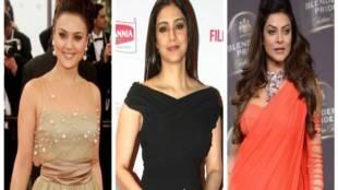 Urmila Matondkar, Preity Zinta, Asha Parekh, Sushmita Sen, Amrita Rao, neha dhupia, nargish fakhri, amisha patel, nanda, unmarried bollywood actress