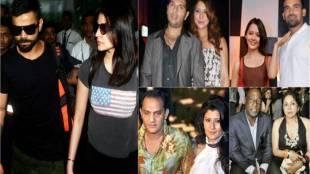 zaheer khan with isha sharvani, azharuddin with sangeeta bijlani, virat anushka photos, indian cricketers break up, Viv Richards and Neena Gupta, saurav ganguly, dona