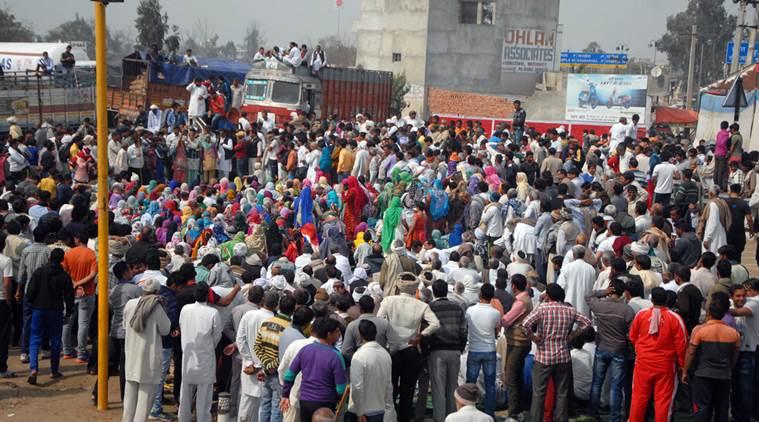 जाट आंदोलन: हरियाणा के 8 जिलों में धारा-144 लागू और पैरामिलिट्री फोर्स तैनात, मुनक नहर पर CRPF