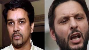 "Shahid Afridi"",""Pakistan"",""India"",""Mohali"",""Kashmir"",""Anurag Thakur"",""BCCI"",""New Zealand"",""Javed Miandad"",""ICC World Twenty20"