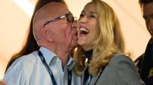Rupert Murdoch, Jerry Hall, News Corp, marriage, wedding , Rupert Murdoch marries Jerry Hall in London,news, India news,International News,International News in India ,London ,London news