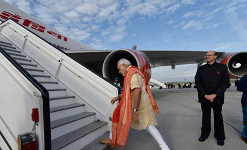 Narendra Modi, Air India One, pm modi daily schedule, modi daily routine, air India One, modi trip to trips to Belgium, US, Saudi Arabia, Washington, Riyadh, modi foreign trips, Washington DC, modi life, modi personal life