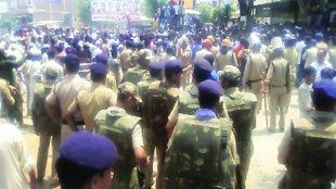 Rudki Riots, Riots, Congress, Communal riots