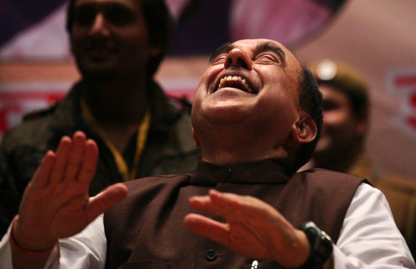 subramanian swamy, arun jaitley, subramanian swamy jaitley, subramanian swamy black money, subramanian swamy news, subramanian swamy BJP, black money india, income tax, abolish income tax, finance ministry