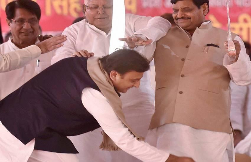 Shivpal Yadav, Akhilesh Yadav, Lalu Prasad Yadav, Samajwadi Party Feud, Uttar Pradesh Elections, Samajwadi Party Silver Jubilee, India, Jansatta