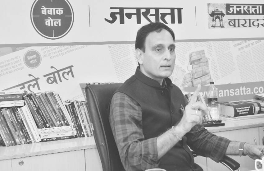 RSS thinker rakesh Sinha, rakesh Sinha Interview, jansatta rakesh Sinha, Students Union vs RSS ideology, Ramjas Violence news, Gurmehar kaur News, Gurmehar kaur ramjas