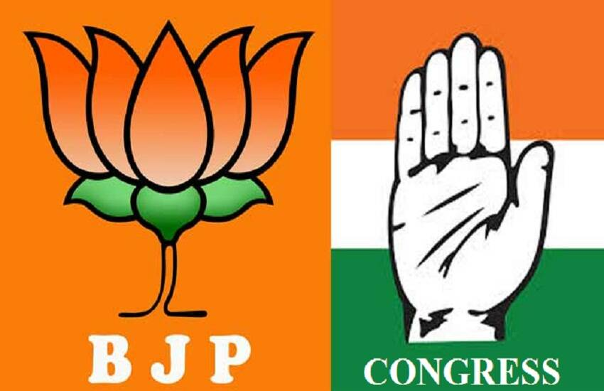 BJP, CONGRESS
