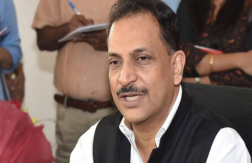 Rajiv Pratap Rudy, Rajiv Pratap Rudy resigns from central cabinet, Rudy resigns from modi cabinet, Amit shah, BJP president Amit shah, PM Narendra modi, PM Modi, Cabinet reshuffle, Cabinet ministers resigns, Hindi news, Jansatta