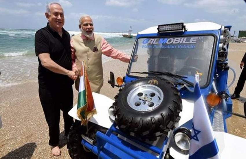 Benjamin Netanyahu, Benjamin Netanyahu in India, A Special Gift, Special Gift to PM Narendra Modi, Benjamin Netanyahu gift, Benjamin Netanyahu indian visit, water pure machine, international news