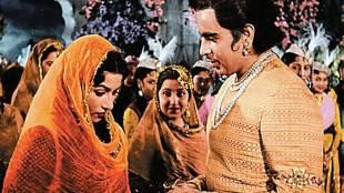 Dilip Kumar and Madhubala,