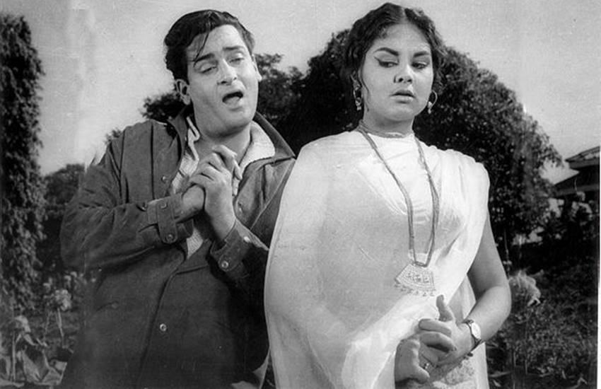 Shammi Kapoor, Vyjayanthimala, T. Prakash Rao, Bollywood, B. L. Rawal, Vrajendra Gaur , Shammi Kapoor was not ready to change the way of dance