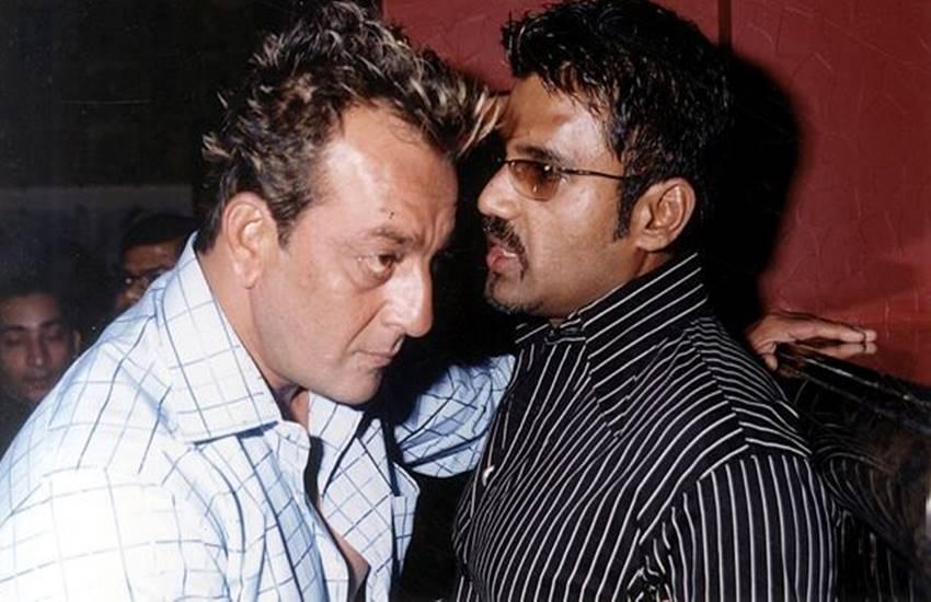 Suniel Shetty and Sanjay Dutt