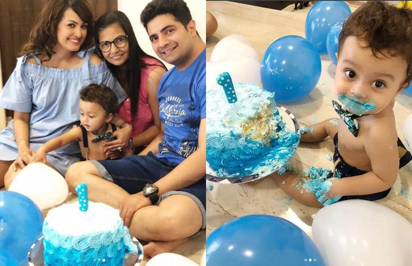 Karan Mehra, Nisha Rawal, Bigg Boss and Yeh Rishta Kya Kehlata Hai Karan Mehra, Karan Mehra Nisha Rawal, baby son first birthday , baby son first birthday photos