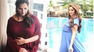 Sania Mirza, Maternity Photoshoot Viral, Sania Mirza Netizens Predict Unborn, Sania Mirza photoshoot, Sania Mirza photos, Sania Mirza news