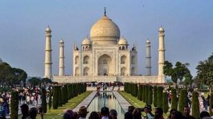National news, Taj Mahal, Taj Mahal Colour, Pollution, Pollutants, ASI, Archaeological survey of india, Yamuna, Yamuna water, ताजमहल, ताजमहल का रंग