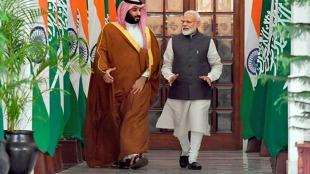 National news, PM Narendra Modi, Narendra Modi, Saudi Arabia Crown Prince Mohammed bin Salman, Mohammed bin Salman, India, Lunch, नरेंद्र मोदी, सऊदी अरब, सऊदी अरब प्रिंस, मोहम्मद बिन सलमान