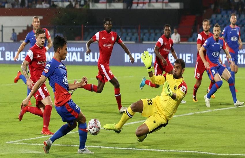 ISL 2018-19 Semi-Final, Northeast United vs Bengaluru FC Highlights: Last minute goal score NorthEast won 2-1