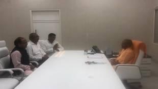 Nishad Party chief Sanjay Nishad meets Uttar Pradesh CM