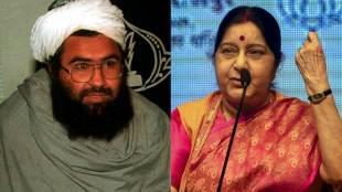 Masood Azhar, Jaish-e-Mohammed, Pakistan, France, Freeze, Assets, India, Sushma Swaraj, Proposal, UNSC, UK, USA, France, India News, National News, Hindi News