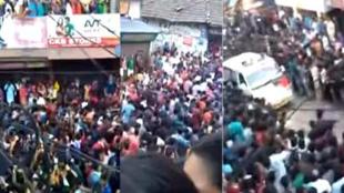 kerala mob give way to ambulance