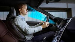 Volvo Driver Monitoring System, how Volvo Driver Monitoring System work, drunk and drive, car park itself, volvo new technology for drunk driver