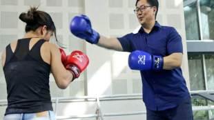 Kiren Rijiju,Mary Kom,Boxing,Sports Minister,Kiren Rijiju Mary Kom
