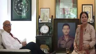 Colonel (retd) V N Thapar, Vijayant Thapar, Captain Vijayant Thapar Marg, Kargil War, Kargil Vijay Diwas,Rajputana Rifles, June 29, 1999, Captain Vijayant Thapar, india news, Hindi news, news in Hindi, latest news, today news in Hindi