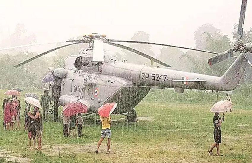 floods & rain, IAF