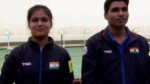Manu Bhaker and Saurabh Chaudhary