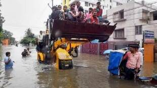 Bihar Floods Death Toll, Train Cancelled