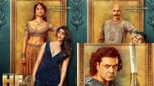 Akshay Kumar, housefull 4 poster, kriti sanon housefull 4 poster, kriti sanon is a princess in housefull 4, akshay kumar introduces kriti sanon, akshay kumar in housefull 4, housefull 4 new posters