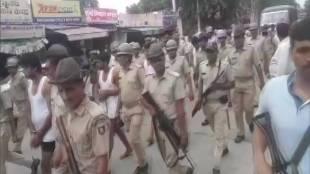 Rajasthan, Alwar, Behror, Behror police station, Gangster Vikram Singh, Rajasthan police, Ak-47, public parade in underwear, behror market, india news, Hindi news, news in Hindi, latest news, today news in Hindi