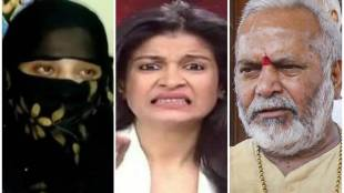 Swami Chinmayanand, Anjana Om kashyap, BJP, rape, congress, former minister, pm modi, UP, UP Police, SIT, Swami Chinmayanand, Chinmayanand, BJP MP, BJP former MP, law student, sexually harassing, accused chinmayanand, LLM student, Sunday Express, hidden camera, Chinmayanand massage, body massage