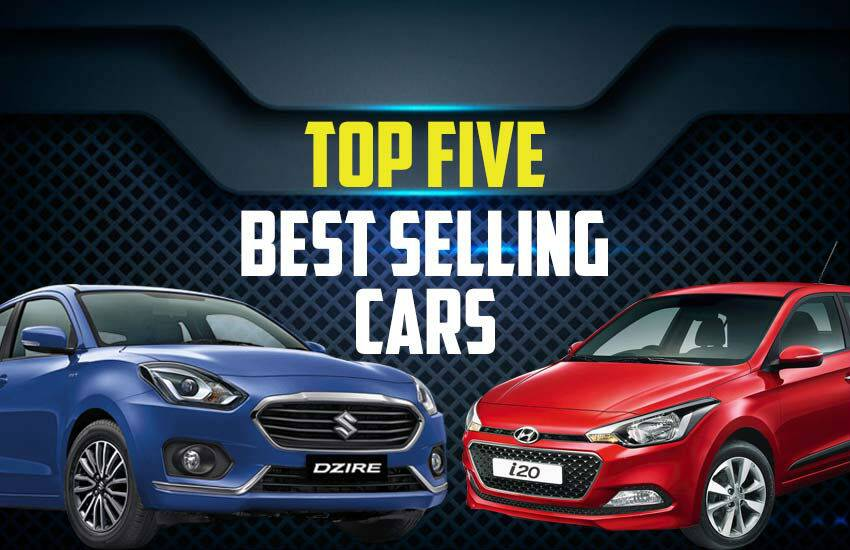 Top 5 Best Selling Cars in India, best selling cars in october 2019, maruti suzuki swift dzire sales in october, maruti suzuki alto sales, Hyundai i20 elite sales