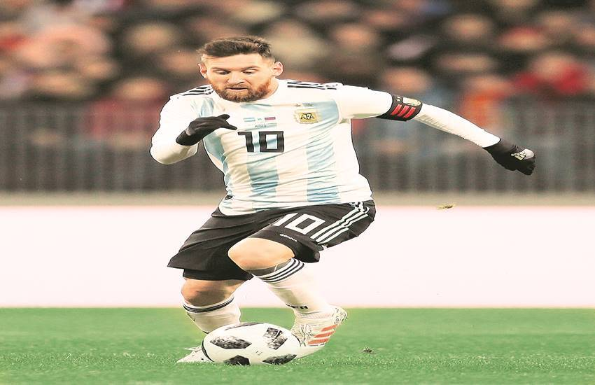 Messi at the pinnacle of excellence