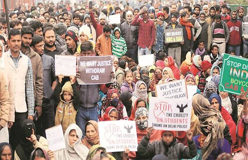 shaheen bagh, CAA Protest