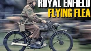 Royal Enfield Flying Flea Trademark, Royal Enfield Flying Flea History in hindi, Royal Enfield Flying Bike, Royal Enfield in World War, Royal Enfield war bikes, Royal Enfield Interesting facts, Royal Enfield History