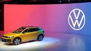 Auto Expo 2020, Volkswagen Taigun , Volkswagen Taigun unveil, Volkswagen Taigun showcase in 2020 Auto Expo, Volkswagen Taigun price , Volkswagen Taigun details, Volkswagen Taigun Compact SUV Unveiled, tata Harrier, Hyundai Creta , Kia Seltos