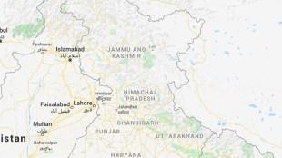 kashmir on google map,kashmir as disputed area,Google maps,america News, Google Maps,Google Map image of Kashmir,