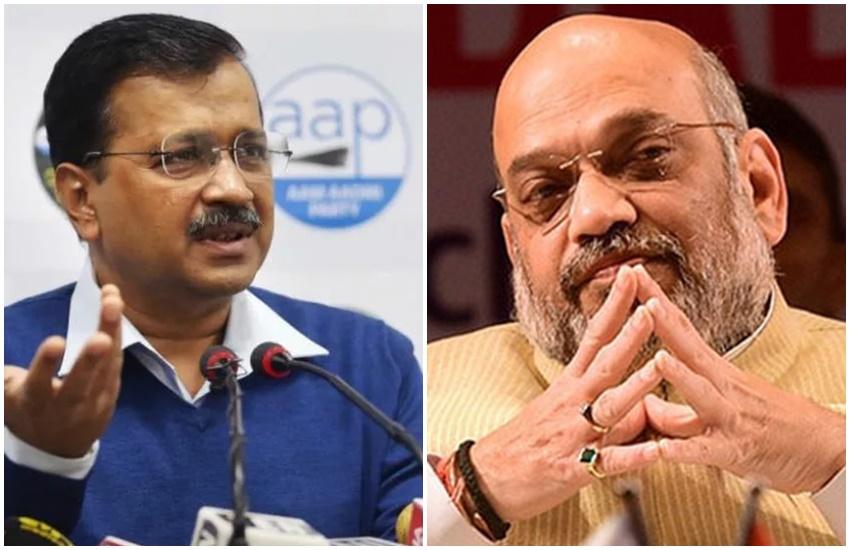delhi election 2020, arvinf kejriwal, दिल्ली चुनाव, आप शोले स्पूफ, बीजेपी, अरविंद केजरीवाल, मनोज तिवारी, अमित शाह, aap, bjp, sholay, aap sholay, aap sholay spoof, bjp sholay spoof, amit shah sholay spoof, amit shah kjeriwal sholay spoof, EC sends notice to Arvind Kejriwal for tweeting controversial video,