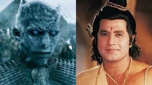 Ramayan, game of thrones, ramayan breaks game of thrones record, uttar ramayan, Ramayan on DD National, Ramayan creates a World record, ramayan highest trp, Arun Govil, Dipika Chikhalia, Sunil Lahri, रामायण