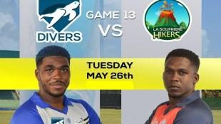 Grenadines Drivers vs La Soufriere Hikers Live Cricket Score 850
